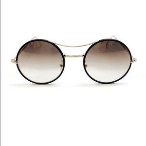KYME Black / Gold Ros Plu Col 11 Sunglasses